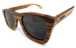 Woodzee Zebrano Sunglasses