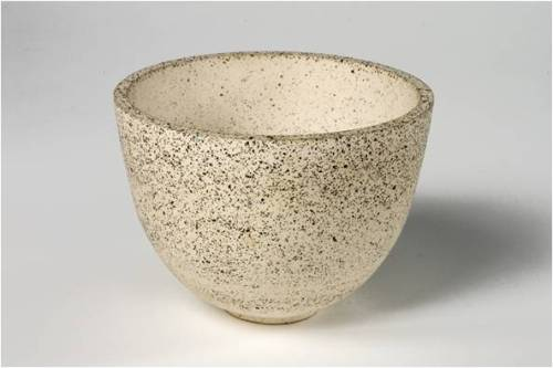 Recycled Ceramic Bowl designed by Annelies de Leede, Netherlands