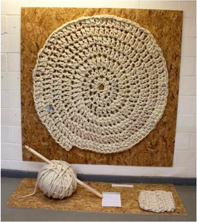 Merino, recycled wool rug designed by Charlotte Jenkinson.