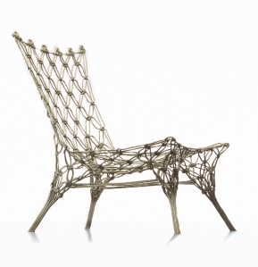 Knotted Chair by Marcel Wanders for Cappellini