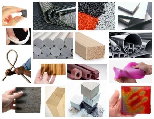 Mosaic of materials
