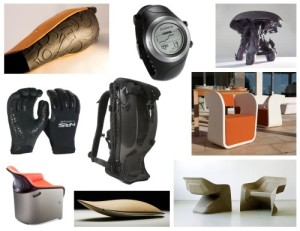 Mosaic of material products