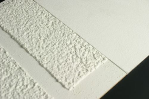 Surface coated in StoCoat® Lotusan® surface (photo by Materfad)