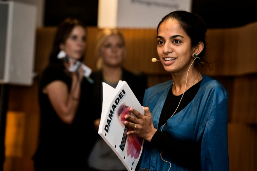 Priya Mani #DAMADEI @designcentret @designsociety - by Henning Hjort Event 31.10.13