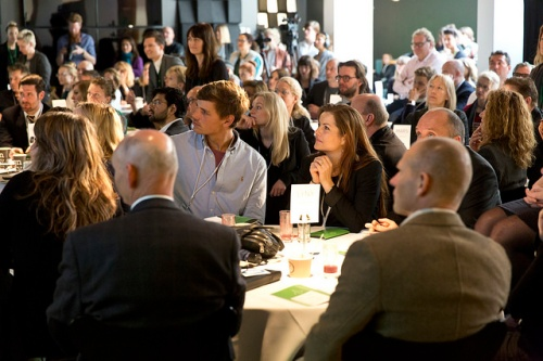 Participants @LAUNCH Nordic Summit - Innovation Challenge 2014 @Design Society ©Leaderlab